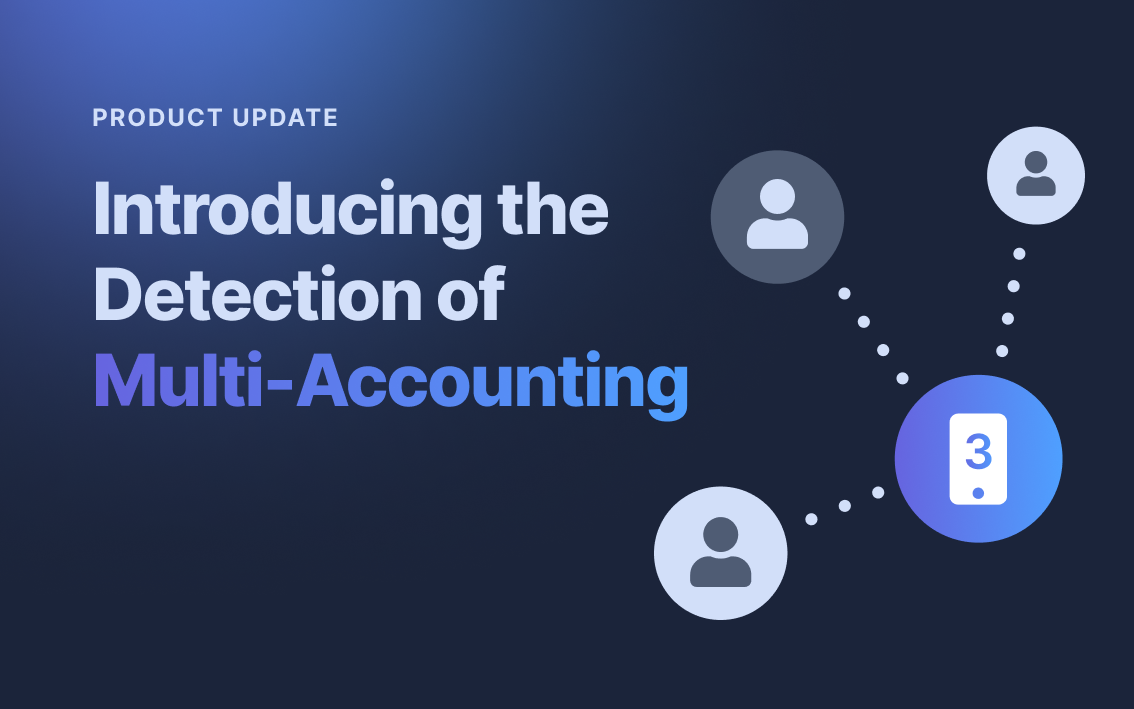 Introducing the Detection of Multi-Accounting