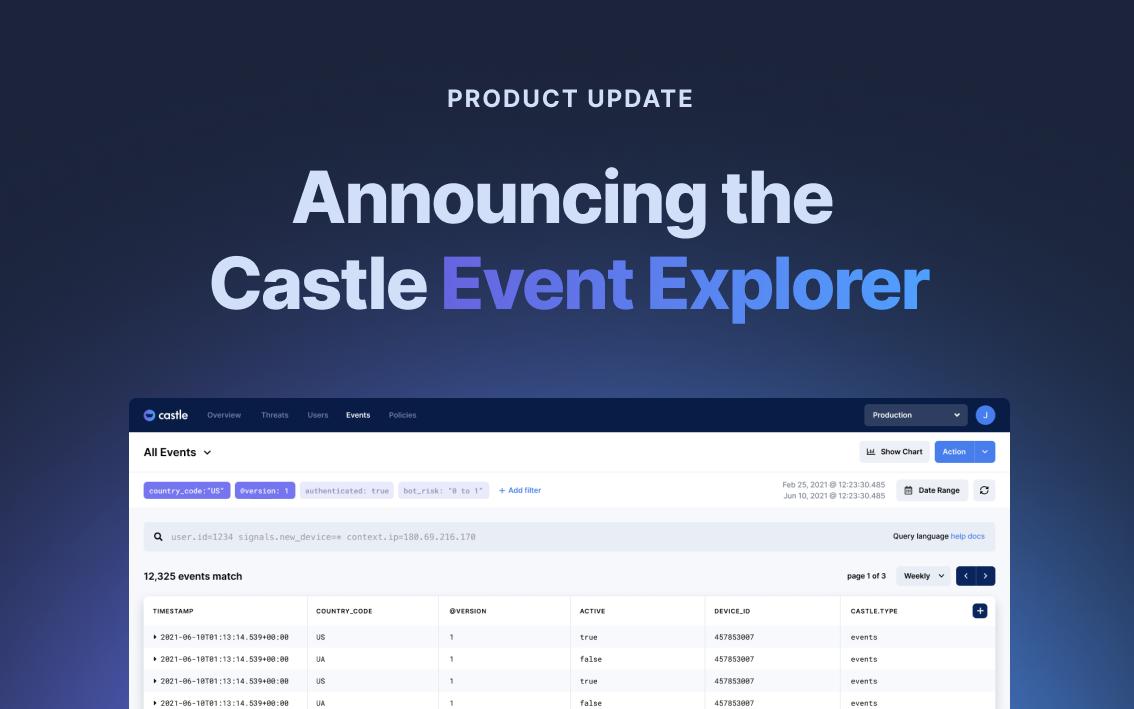 Announcing the Event Explorer
